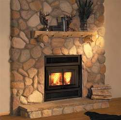 Fireplace insert a self sufficient fireplace for Firerock fireplace prices